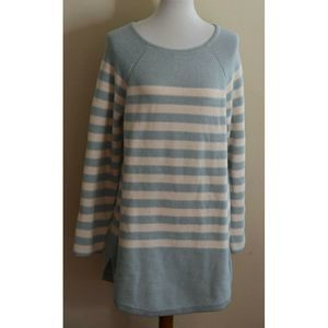 Free People FP Beach Sweater Tunic Striped